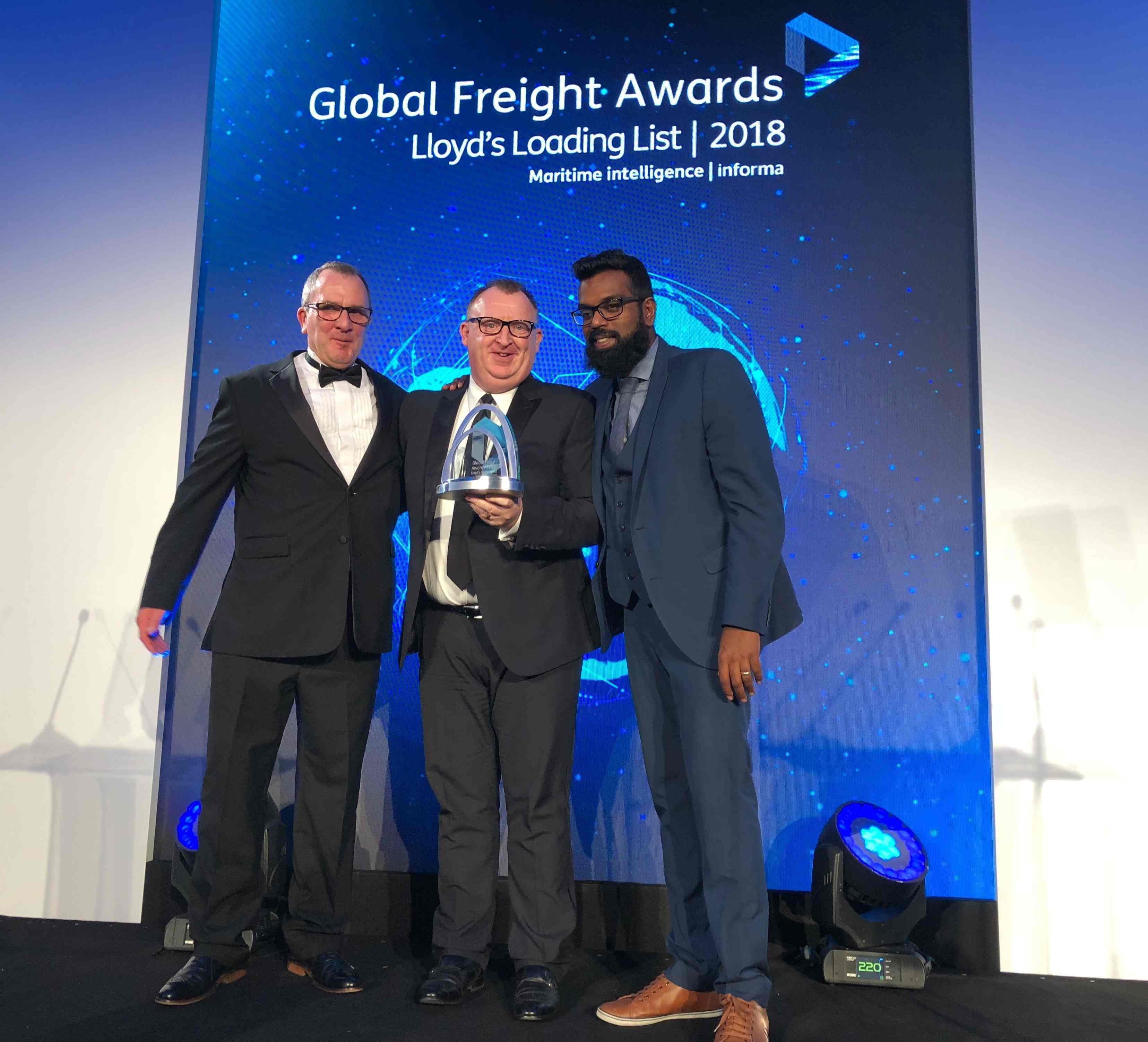 Kerry Logistics Wins Sea Freight Award at Global Freight